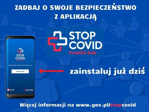 Aplikacja STOP COVID
